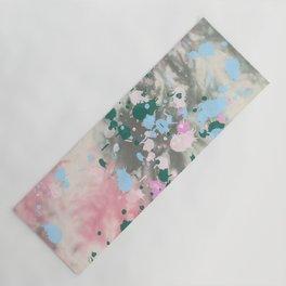 Tie Dye Splatter Yoga Mat
