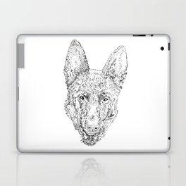 black dog Laptop & iPad Skin