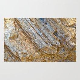 Stunning rock layers Rug