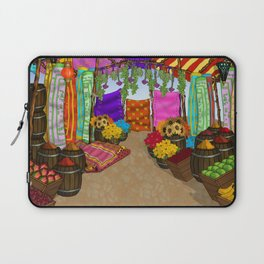 At The Bazaar Laptop Sleeve