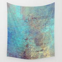 cracked Wall Tapestries featuring Cracked by Jessielee