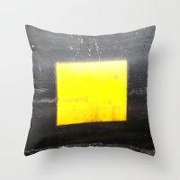 square Throw Pillows featuring SQUARE by Manuel Estrela 113 Art Miami