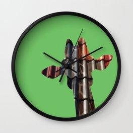 Urban Giraffe II Wall Clock