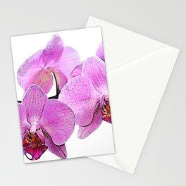 orchid flower minimalist minimal Stationery Cards