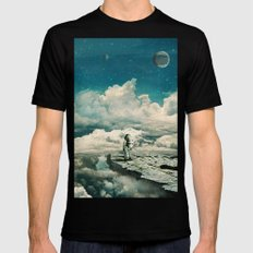 The explorer Black Mens Fitted Tee LARGE