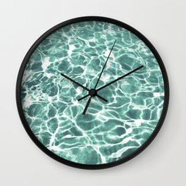 Pool Water Wall Clock