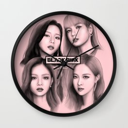Blackpink FanArt Wall Clock