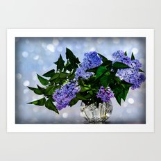 Mother day lilac Art Print