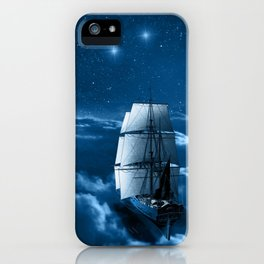 Second Star to the Right iPhone Case