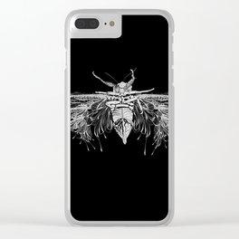 M Cicada Clear iPhone Case