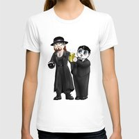 wwe T-shirts featuring Chibi WWE - Undertaker and Paul Bearer 1 by Furiarossa