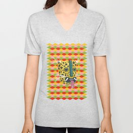 Mexican Leopard Unisex V-Neck