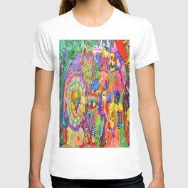 Pop Art World by Elisavet T-shirt