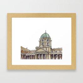 Buda castle Framed Art Print
