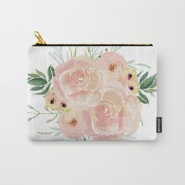 Wild Rose Carry-All Pouch