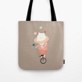Danika Puts on a Show Tote Bag