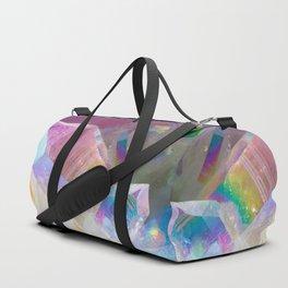 Opal Aura Quartz Crystal 1 Duffle Bag