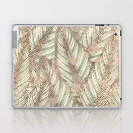 Vintage Tropical Leaves Laptop & iPad Skin