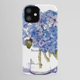 Cape Cod Hydrangea Large Canvas iPhone Case