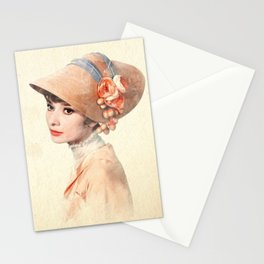 Eliza Doolittle - Watercolor Stationery Cards