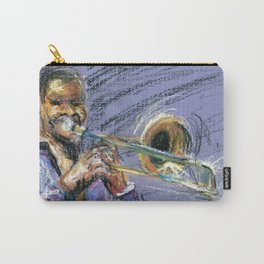 Jazz Trombonist Carry-All Pouch
