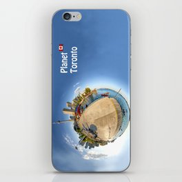 Planet Toronto Wall Paper iPhone Skin