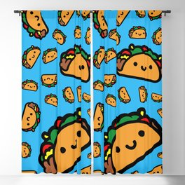 Happy Taco Blackout Curtain