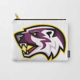 American Badger Mascot Carry-All Pouch
