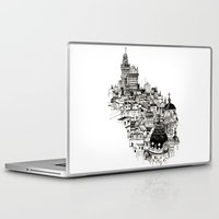 madrid Laptop & iPad Skins featuring Madrid by Justine Lecouffe