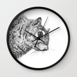 Squirrel! Wall Clock