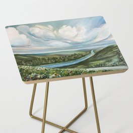 Tennessee River Side Table