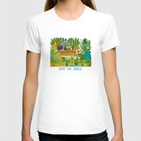 jungle T-shirts featuring Jungle by Milanesa