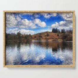 Lakeside Reflections Serving Tray