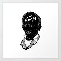 Homage to Vincent / Trabuc Art Print