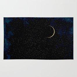 Crescent Moon Rug