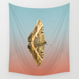 Black Witch Moth Wall Tapestry