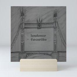 Londoner favourite Mini Art Print