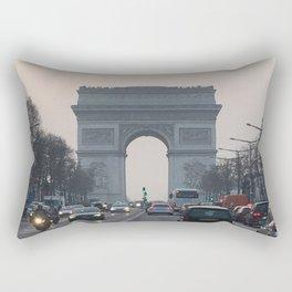 Arc at Sunset Rectangular Pillow