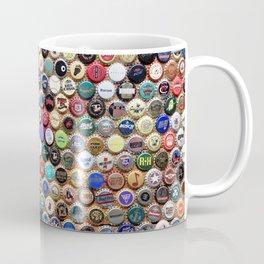 Beer and Ale Bottle Caps Coffee Mug