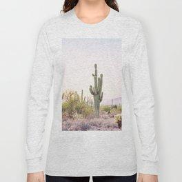 Cactus In The Desert Long Sleeve T-shirt