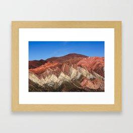 Hornocal Hill Framed Art Print