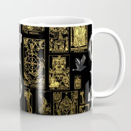 Beautiful Tarot Print with Raven and Moon Coffee Mug