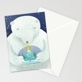 Holiday Polar Bear Stationery Cards