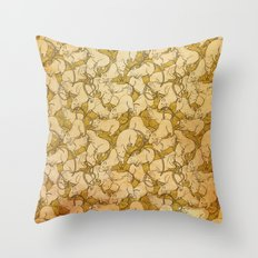 A world of rats Throw Pillow