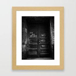Hidden Away Framed Art Print