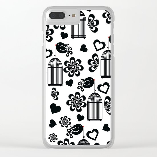 Pattern N Clear iPhone Case
