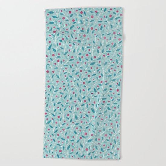 Merry Berries Beach Towel