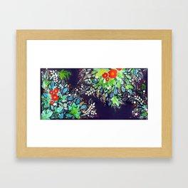 Frondage You Know Framed Art Print