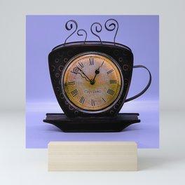 Old Clock Mini Art Print