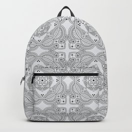 elegant meditation mandala Backpack